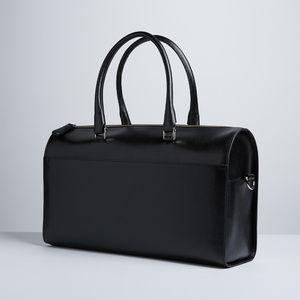 Royce Leather Saffiano Leather Duffel Bag